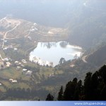 Khurpa Tal view from Land's End, Nanital